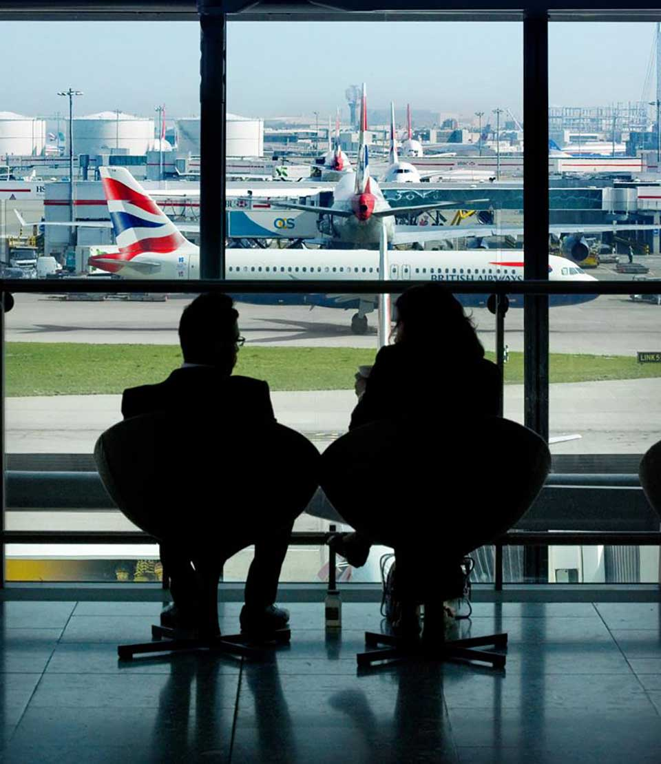 aeroporto heathrow embarque