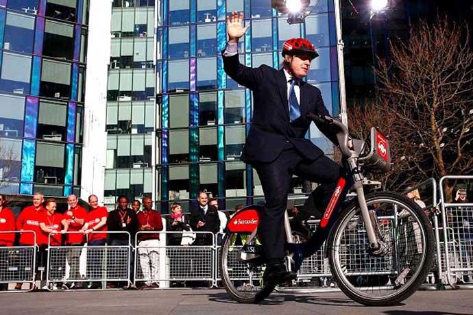 Boris Bikes Santander
