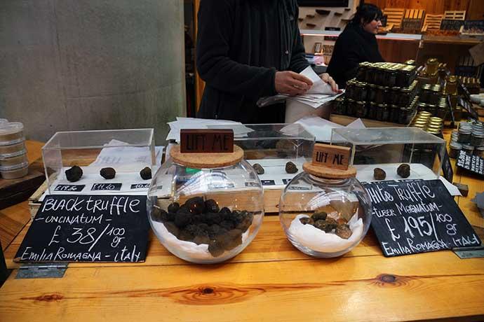 borough market trufas