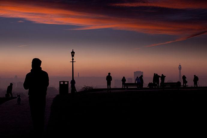 Sunset Primrose Hill