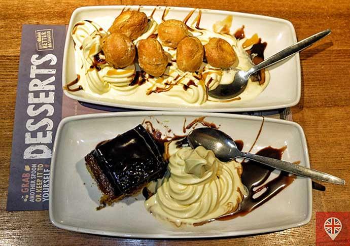 brighton harvester dessert