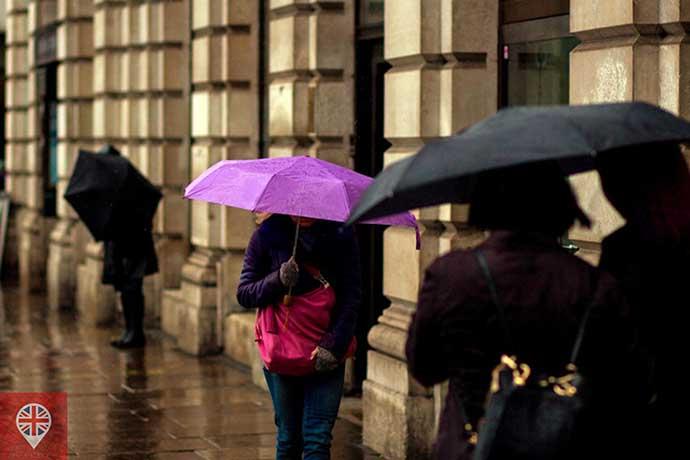 guarda chuva transito