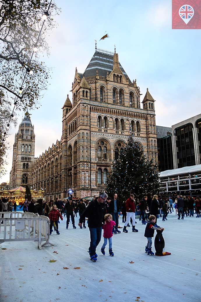 natural history museum ice skating