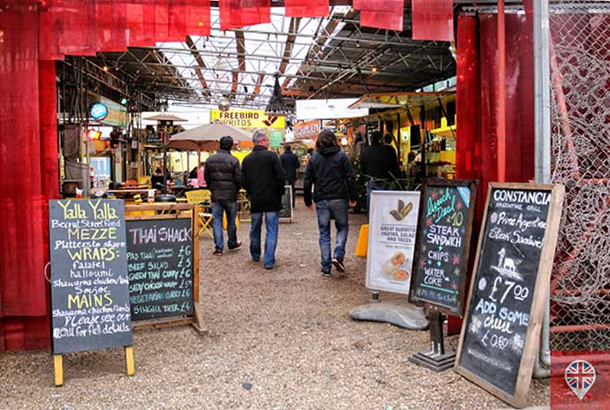 shoreditch high street food village