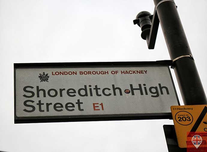 shoreditch high street sign