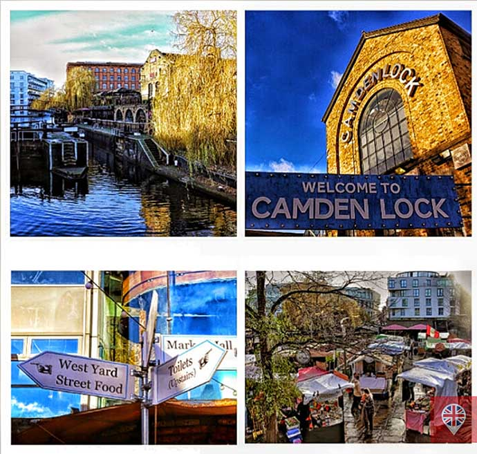 Camden lock photogrid