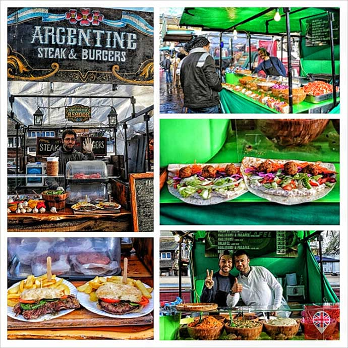 Global Kitchen Argentina e Falafel photogrid