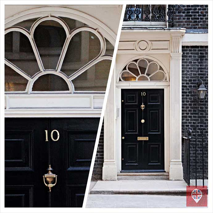 porta 10 downing street fake
