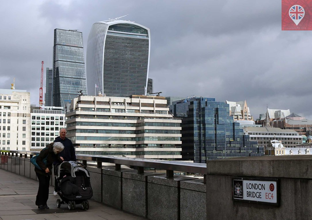 Walkie Talkie London Bridge