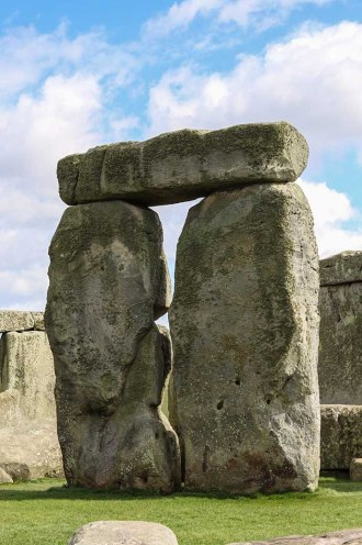 Stonehenge close arch