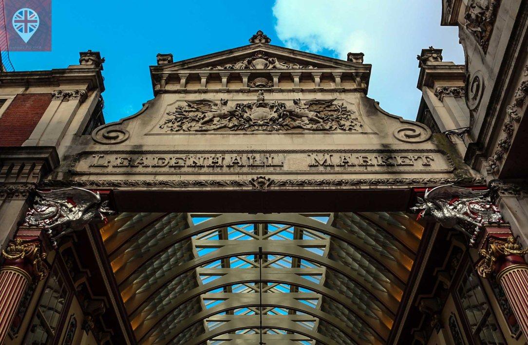 Leadenhall Market detalhe entrada