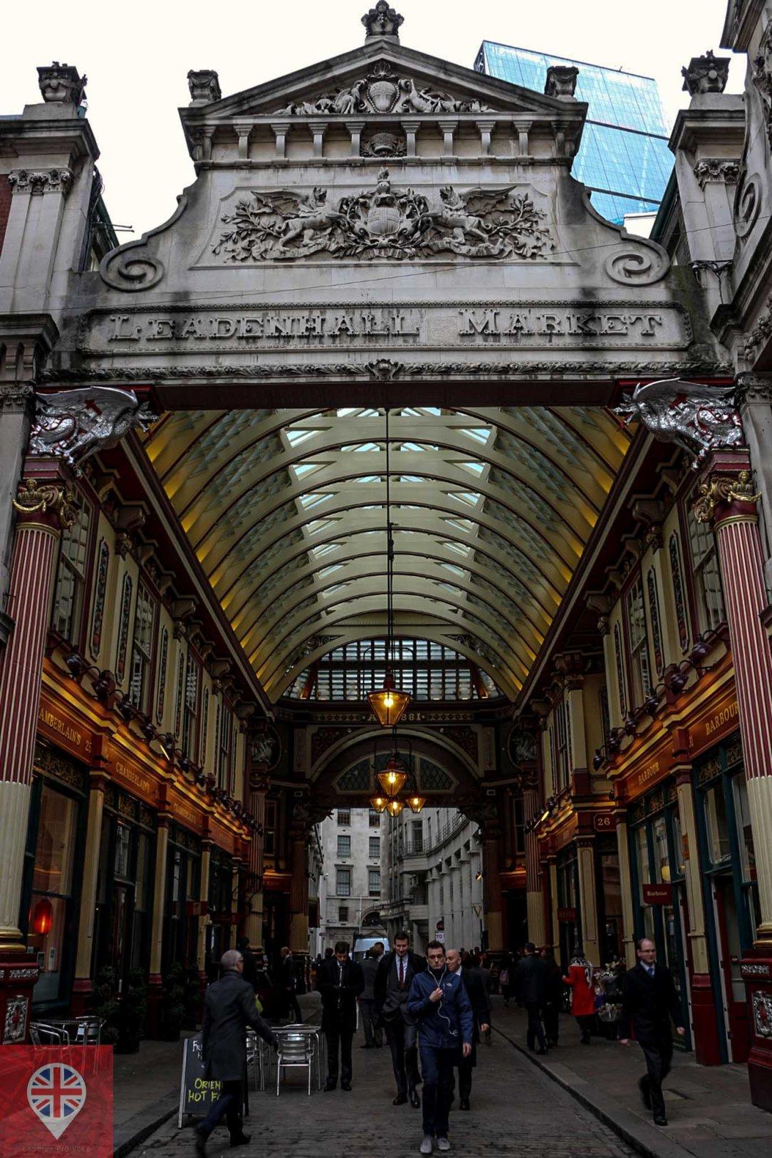 Leadenhall Market entrada