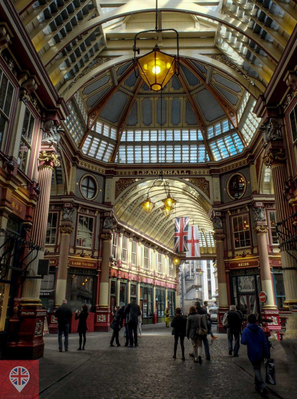 Leadenhall Market hall 2