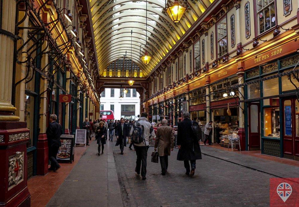 Leadenhall Market hall