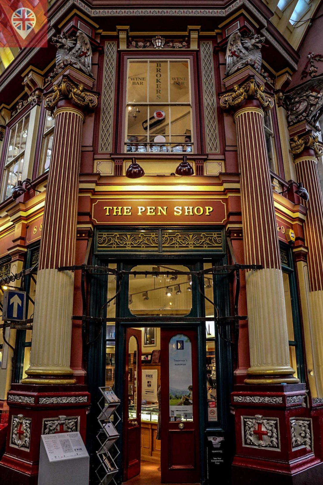 Leadenhall Market the pen shop