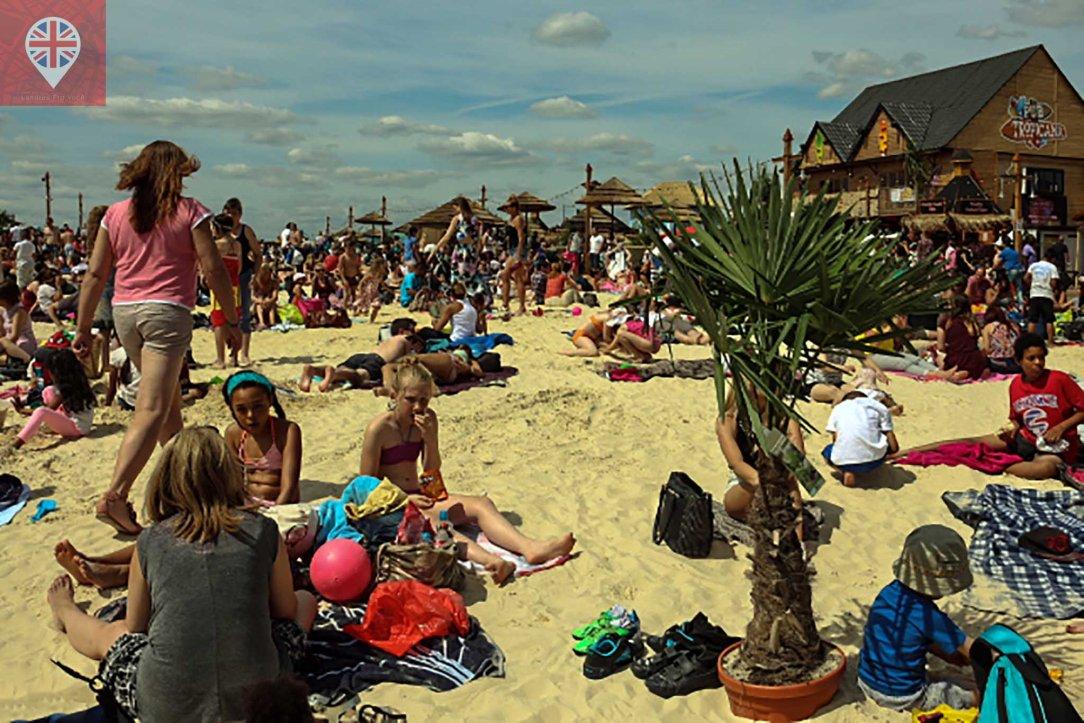 Beach East sand