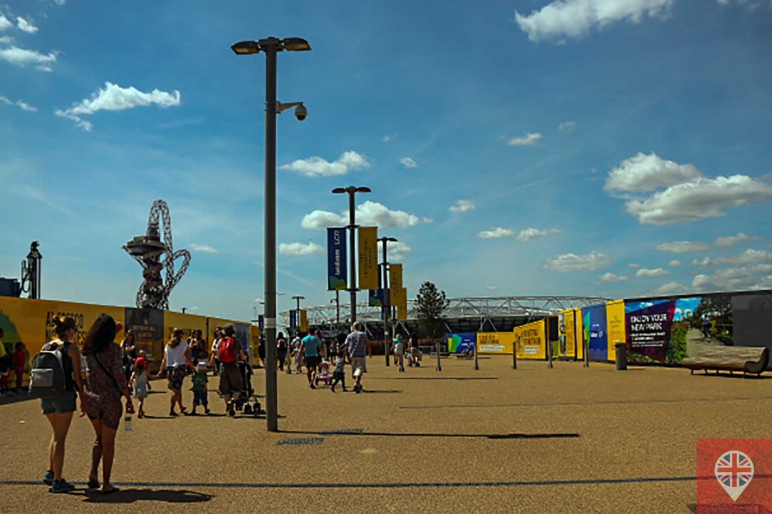 Olympic park entrance