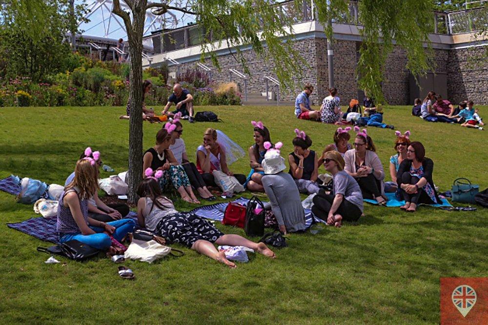 Olympic park hen picnic