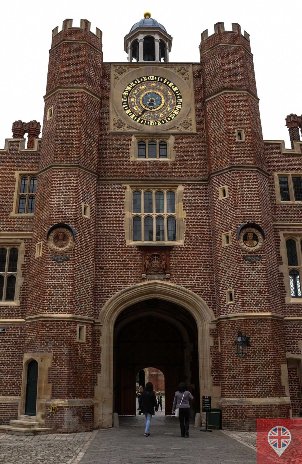 Hampton Court clock tower