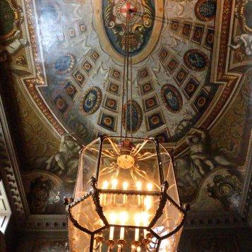 Hampton Court detalhe lustre