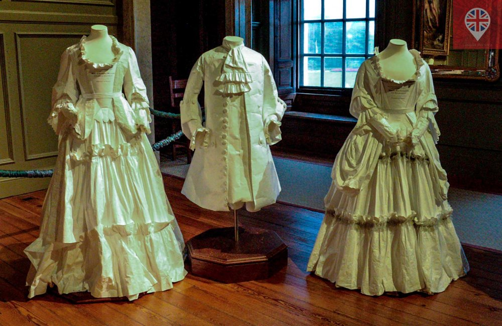 Hampton Court dresses
