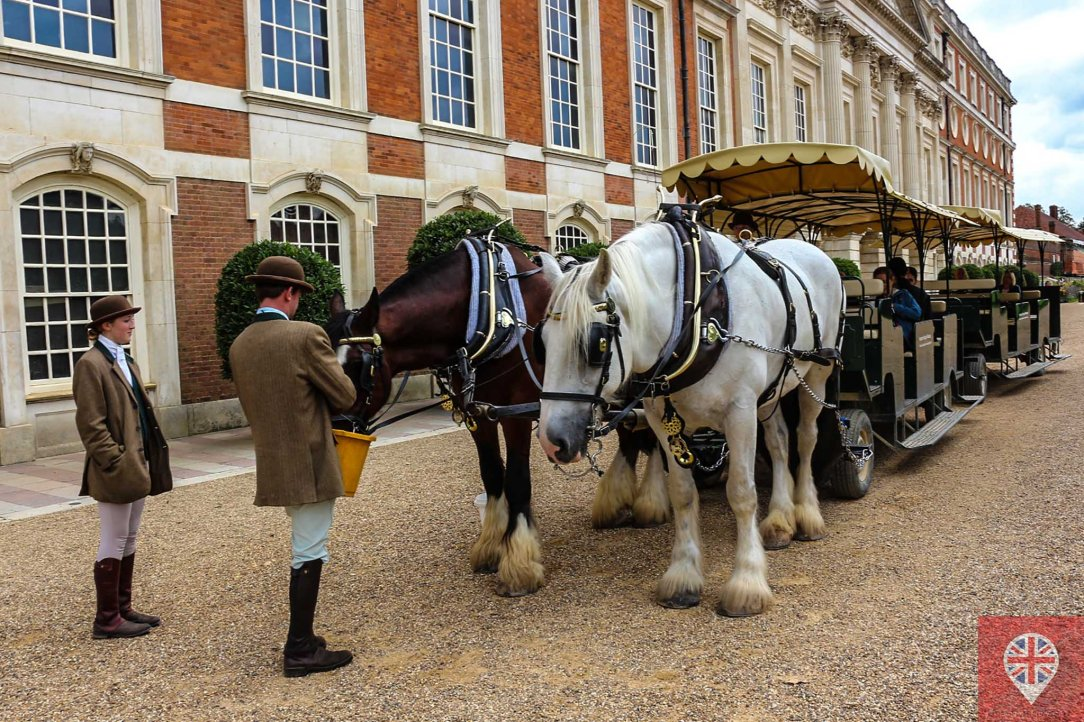 Hampton Court garden carriage