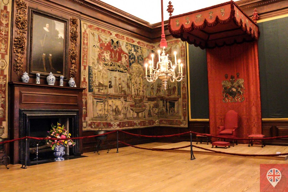 Hampton Court throne room