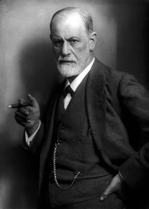 Freud by Max Halberstadt, 1921