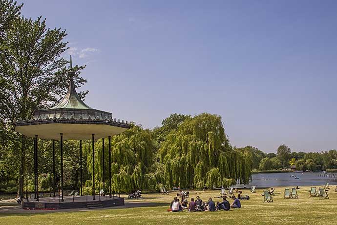 regents park coreto