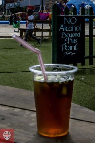 Pimms é a bebida ofiial do verão londrino.