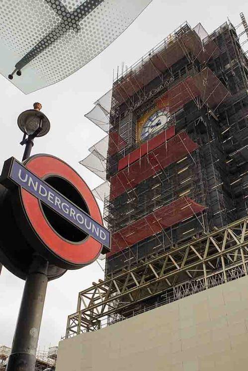 big ben escondidinho underground sign