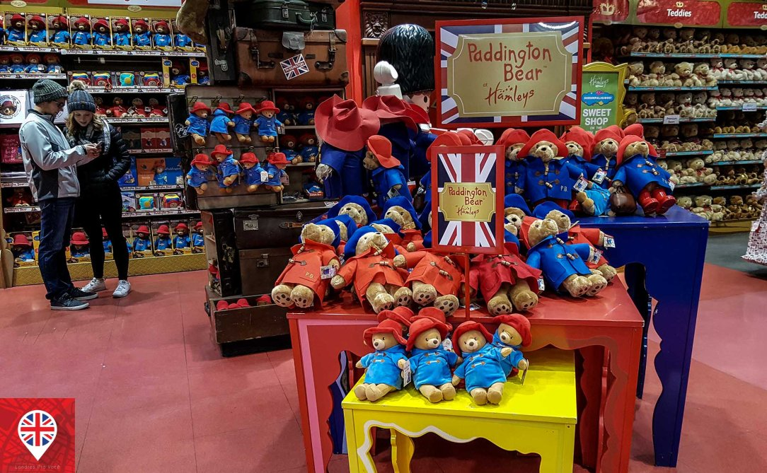 Hamleys paddington bear