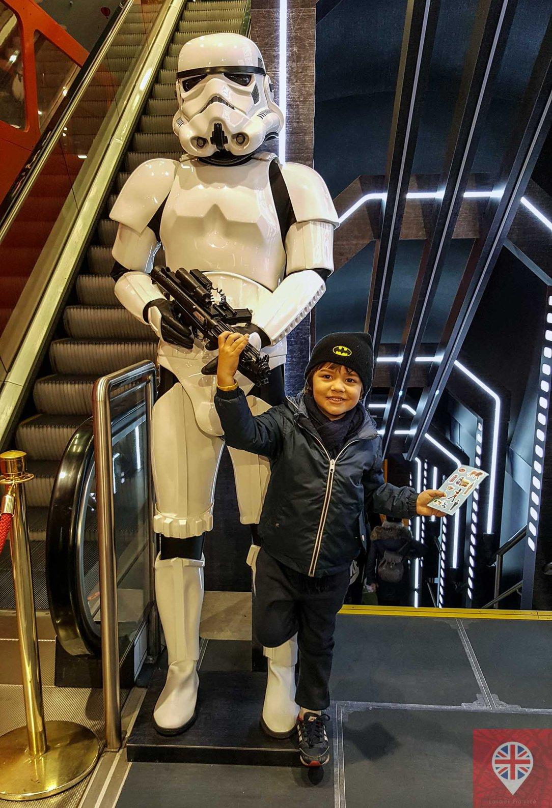 Hamleys stormtrooper
