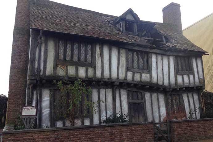 A casa da família Potter