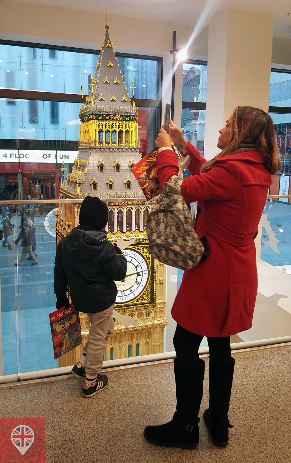 Lego store big ben fotos