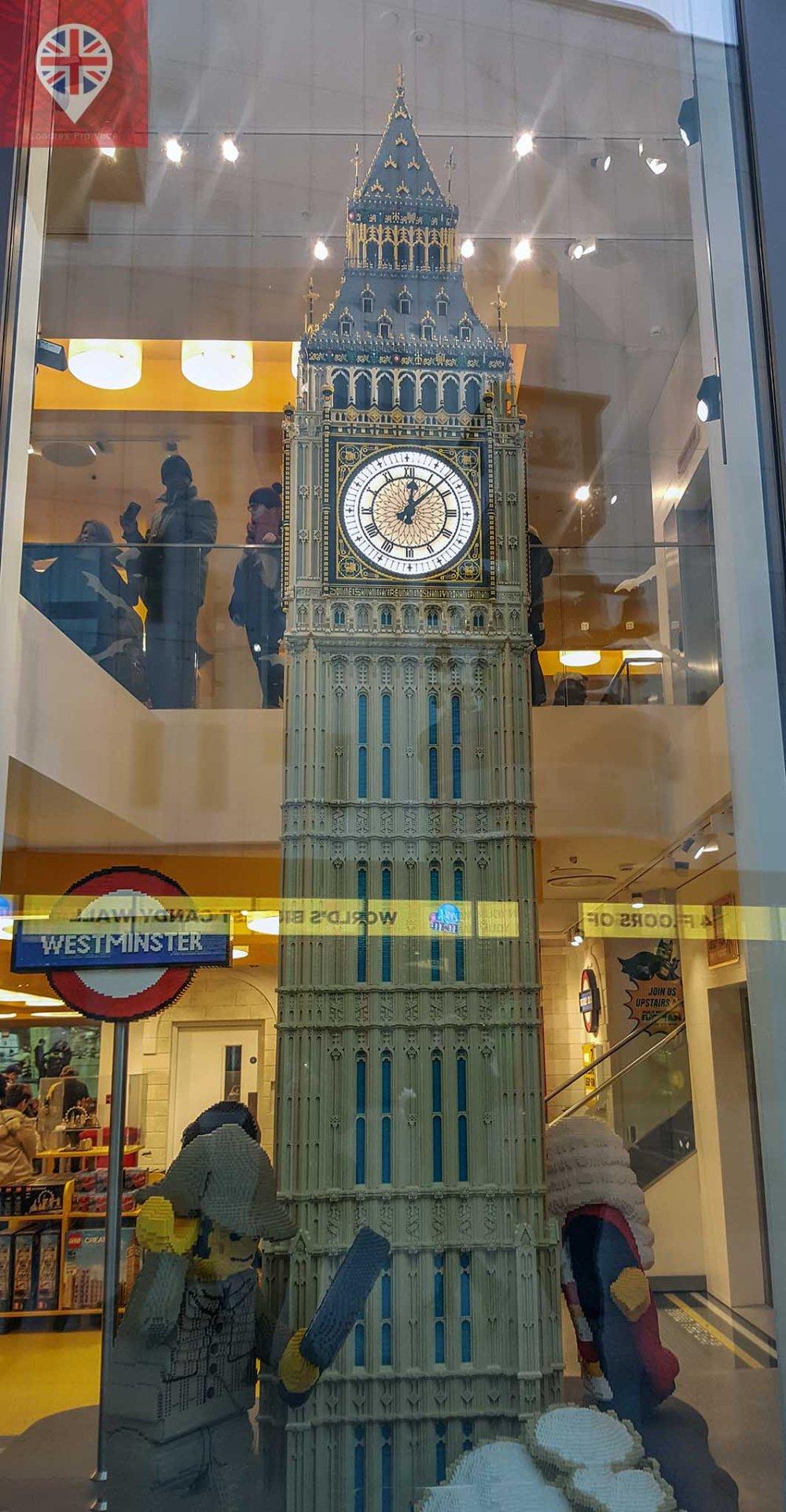 Lego store big ben