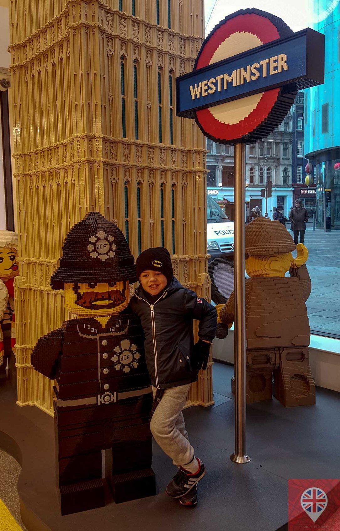 Lego store policeman