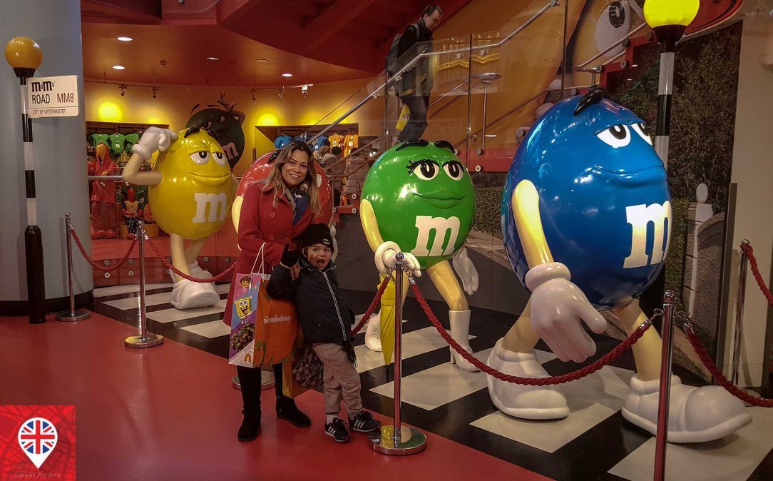 M&M world london abbey road beatles