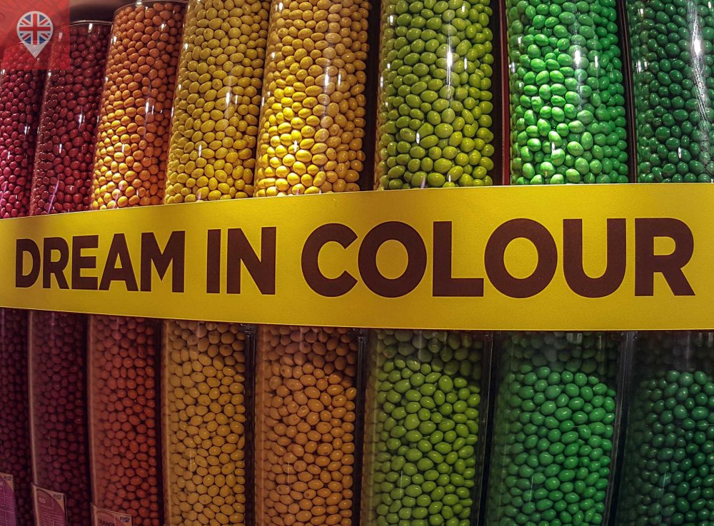 M&M world london dispensers