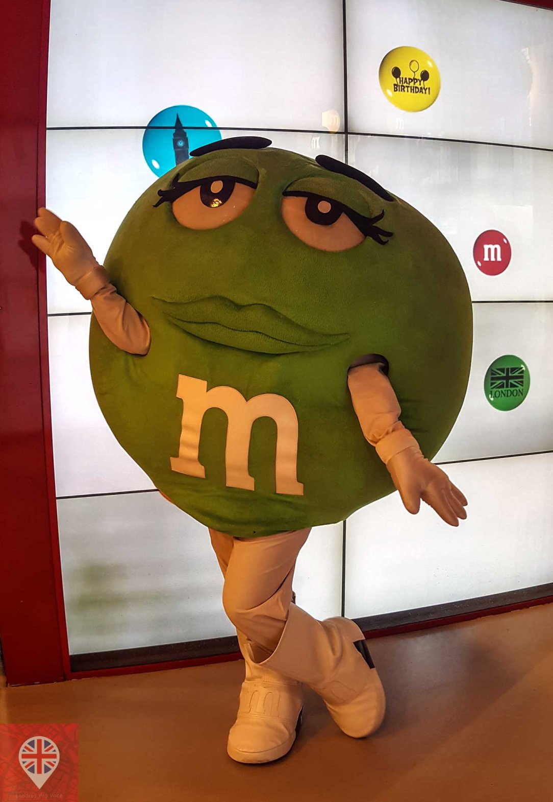 M&M world london green