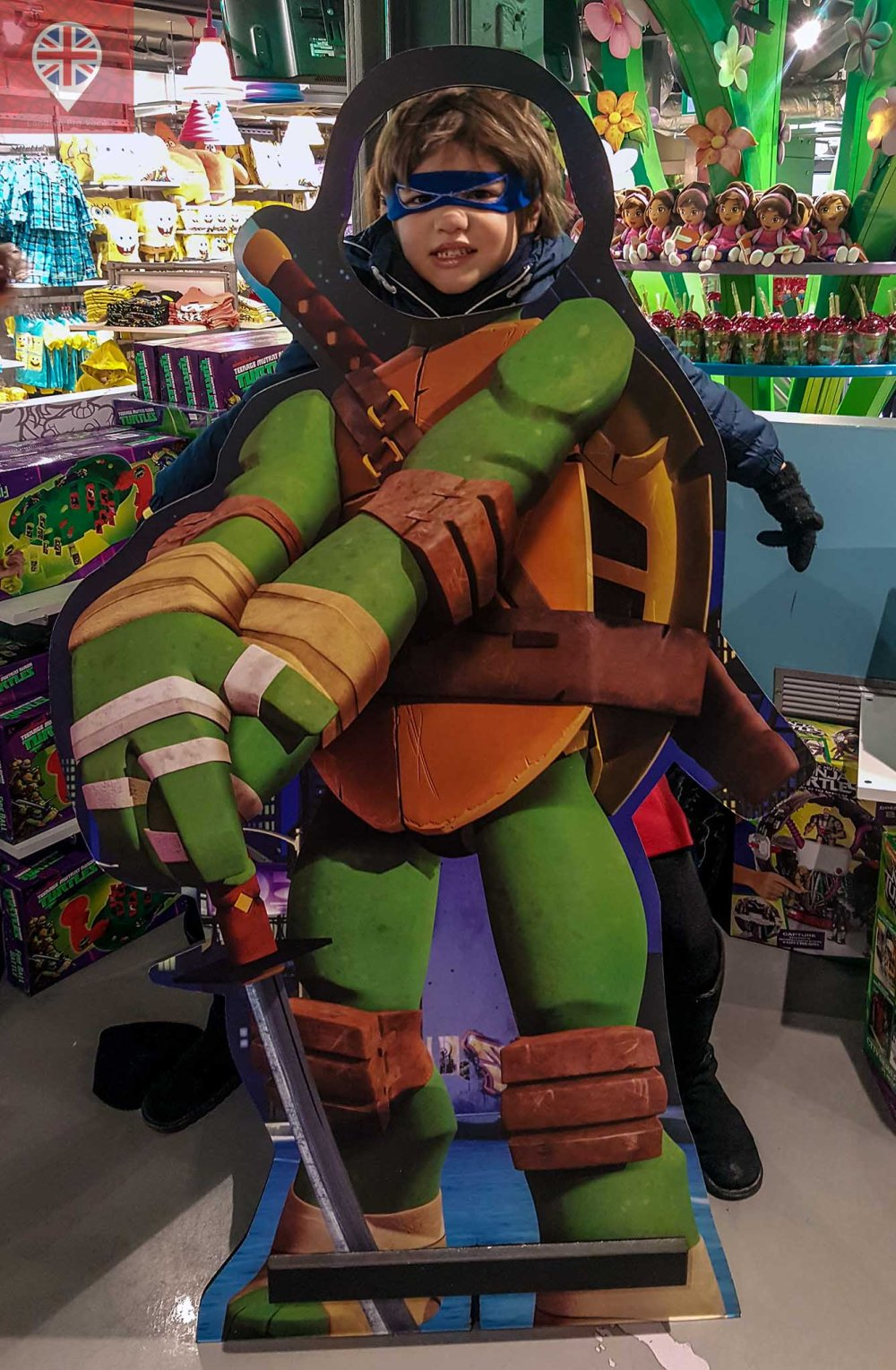 Nickelodeon store JG ninja turtle