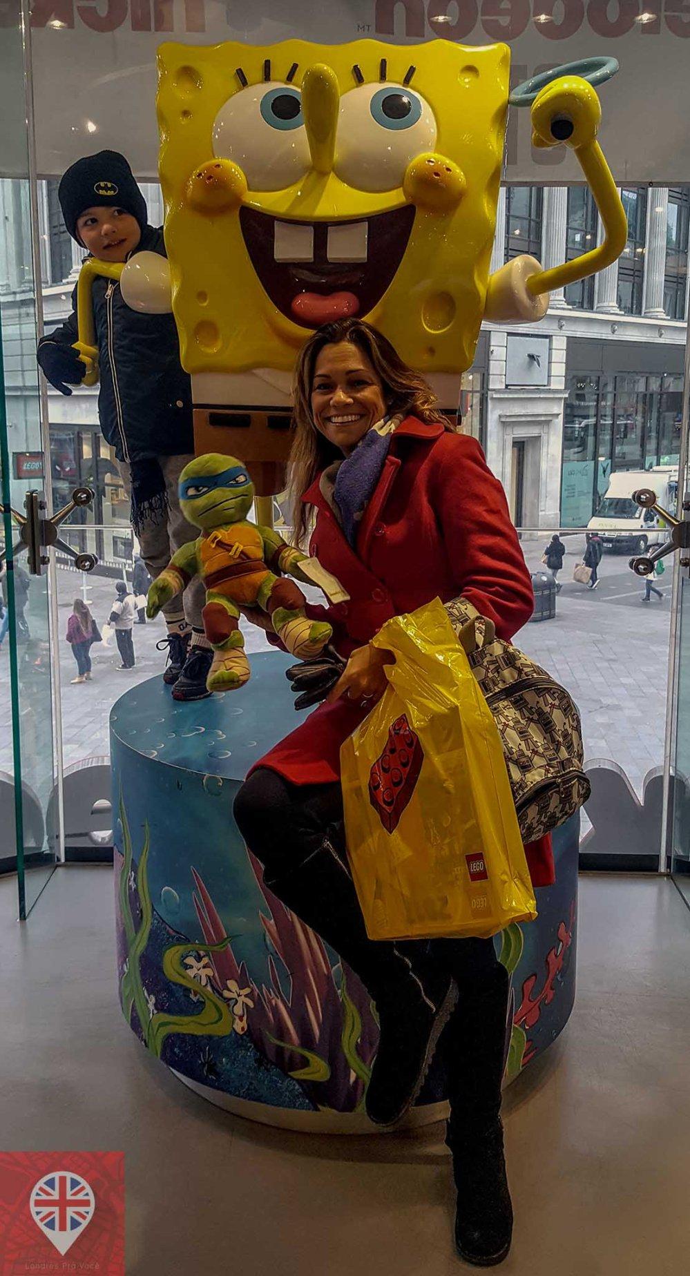 Nickelodeon store sponge bob