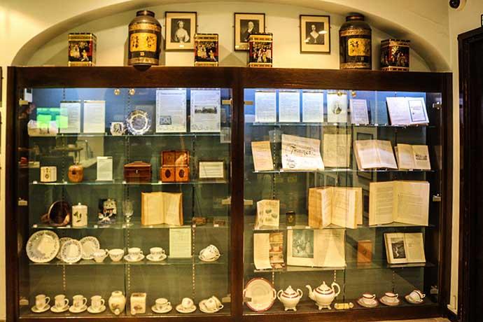 Twinings museum display