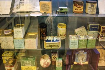 Twinings museum various boxes
