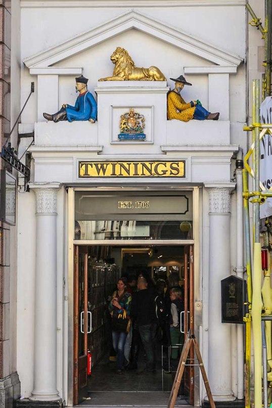 Twinings strand door