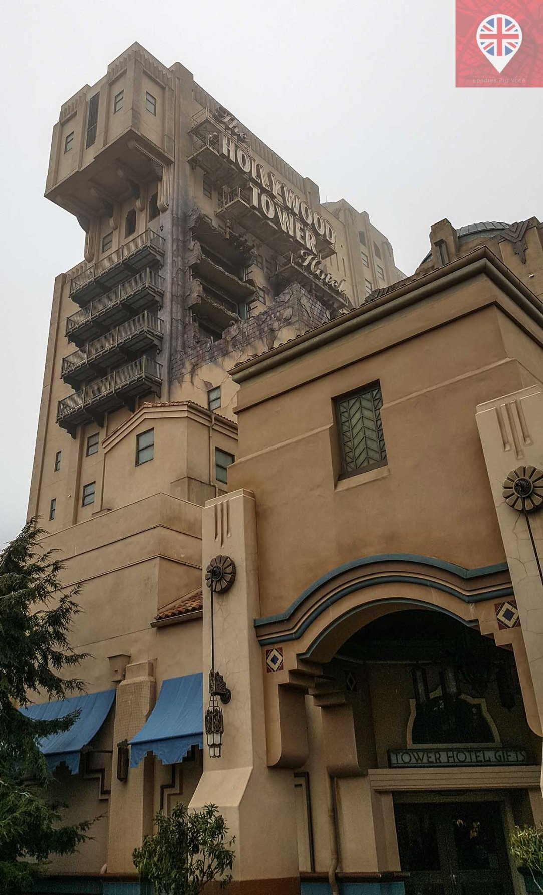 Disney Studios Tower of Terror