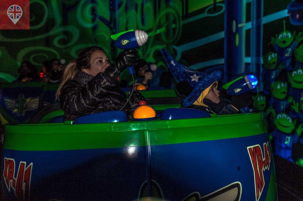 Disneyland Paris Buzz laser