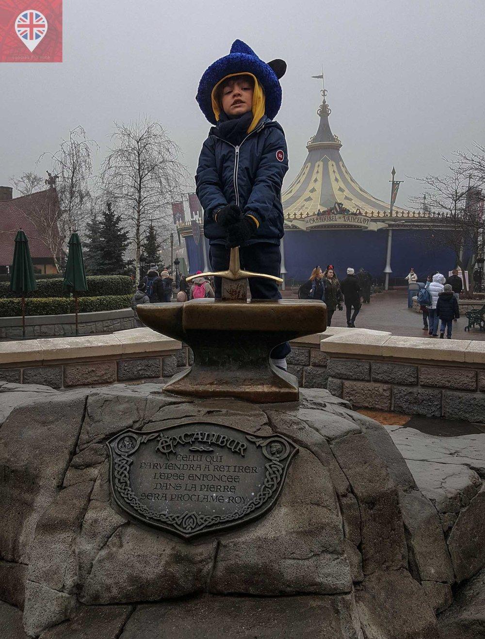 Disneyland Paris excalibur
