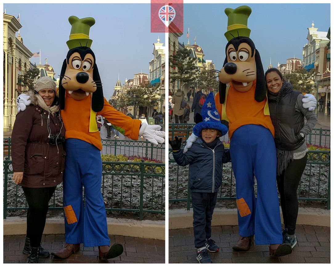 Disneyland Paris goofy pateta