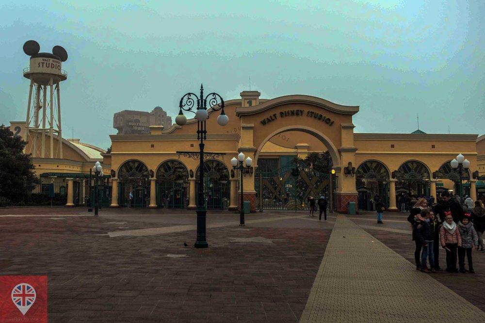 Disneyland Paris Studio entrance